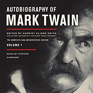 Autobiography of Mark Twain, Volume 1 audiobook cover art