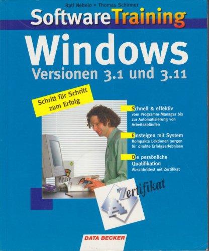 SoftwareTraining Windows 3.1./3.11. Schritt für Schritt zum Erfolg