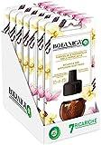 Airwick Botanica Ricariche per Diffusore di Oli Essenziali Elettrico, fragranza Vaniglia e Magnolia dell'Himalaya, fragranza naturale - Confezione da 7 Ricariche