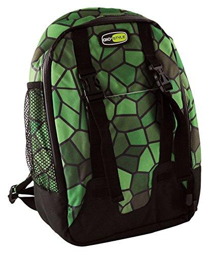 GioStyle Boxy Shell - Mochila térmica de PVC, Color Verde