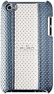 Puro PUF3041 - Funda de cuero para iPod Touch 4G, color azul