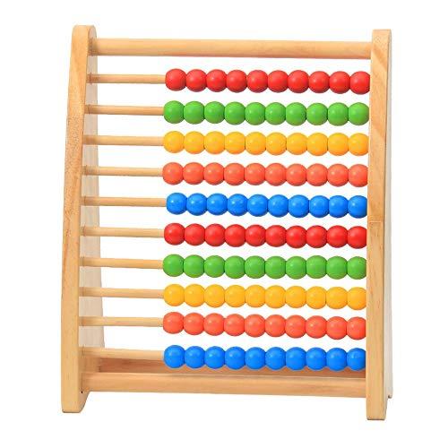Juguetes para niños Juguetes de madera, for aprender los números Matemáticas manipulativos Counting Abacus de juguete clásico de perlas de regalos for los niños Niños Niños Regalo educativo del juego