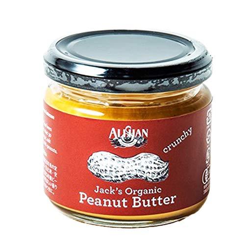 ミニサイズ 有機ピーナッツバタークランチ(120g) 【アリサン】