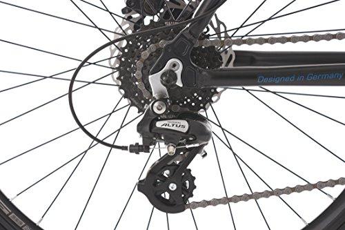 KS Cycling Mountainbike Hardtail GTZ RH 56 cm Fahrrad schwarz/Blau 26 Zoll - 3