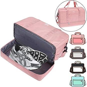 Acecha Compartment Shoulder Shoes Gym Bag
