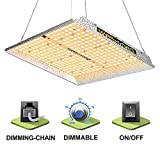 MARSHYDRO TS 1000W Led Grow Light 3x3ft Coverage Dimming Daisy Chain Updated 342 LEDs Plant Grow Light Full...