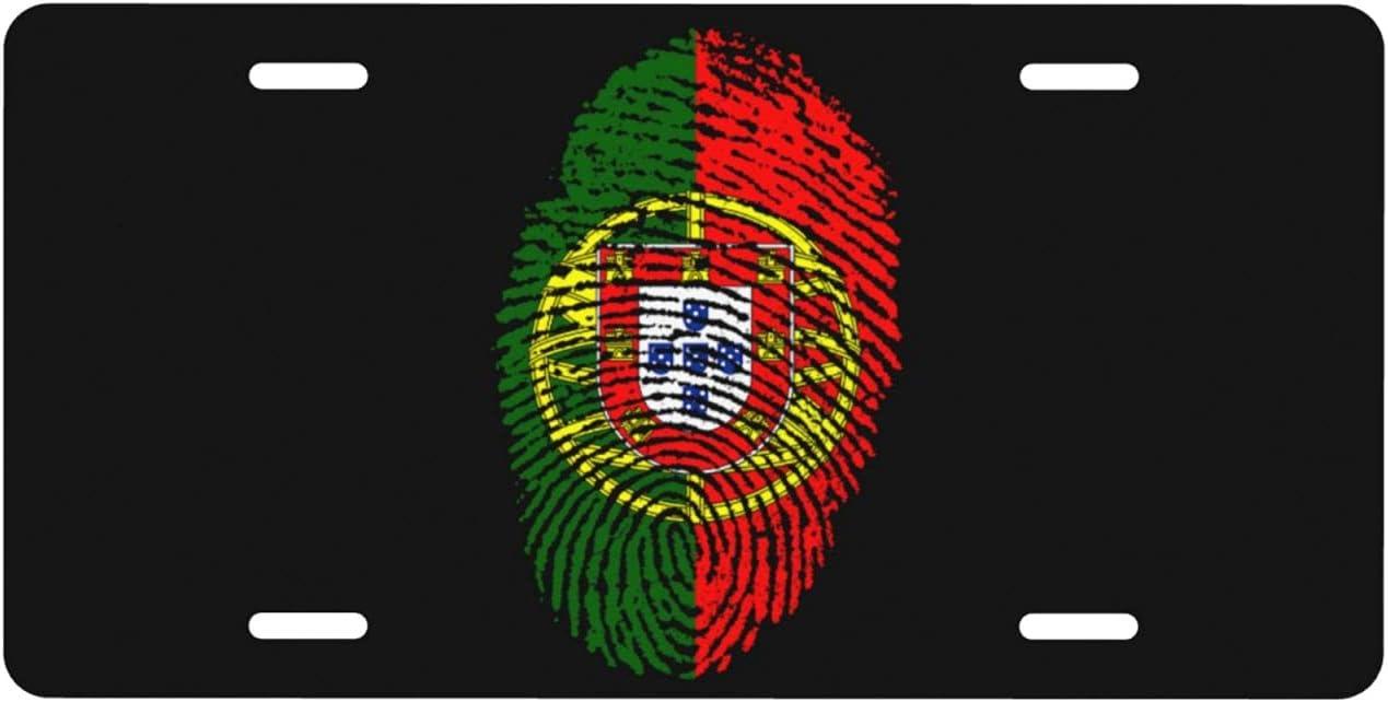 Portugal Flag Fingerprint Personalized Auto Truck Plate famous Sale price License