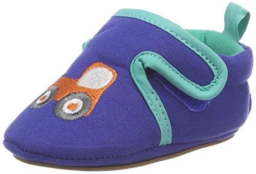 Sterntaler Baby-Schuh mit rutschfesten Sohlen für Jungen, Alter: 6-9 Monate, Größe: 18, Farbe: Blau, Art.-Nr.: 2301863