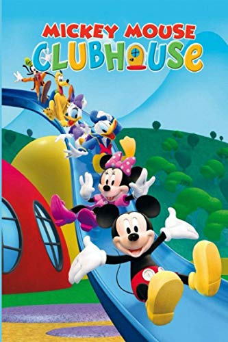 Mickey Mouse Clubhouse: School Composition Lined Journal, Unique For Teenage Girls Boys Adults, Perfect For Notes, Creative Ideas, Recipes, Diary, To ... Gift for kids All Ages (6x9 - 100 Pages)