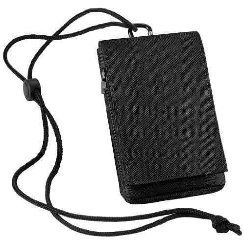 BagBase–Handyhülle, schwarz - schwarz - Größe: Einheitsgröße