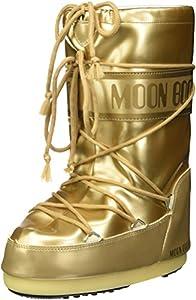 Moon-boot Vinil Met, Botas de Nieve Unisex Niños, Dorado (Oro 003), 31 EU