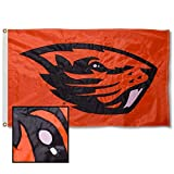 College Flags & Banners Co. Oregon State Beavers Embroidered and Stitched Nylon Flag