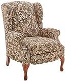 Lane Home Furnishings 6002-11 Luisa Tobacco Hi Leg Recliner,Medium