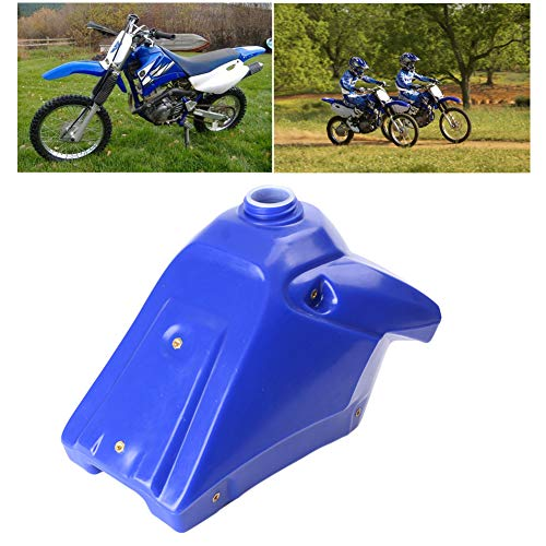 Three T Motorcycle Fuel Gas Tank Replacement Compatible with Yamaha TTR 125 2000 2001 2002 2003 2004 2005 2006 2007 (Replace Part #: 5HP-24110-30-00)