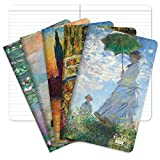 Field Notebook - 5'x8' - Monet Patterns - Lined Memo Book - Pack of 5