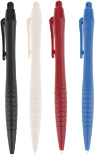 Baoblaze 4Pack Stylus Plastic Retractable Touch Screen Pen for Nintendo WII U 3DS 3DSXL NDS NDSL Game Console
