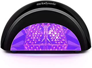 MelodySusie LED Nail Dryer Nail Lamp Curing LED Gel Nail Polish, Professional Nail light for Nail Art at Home and Salon (Black)