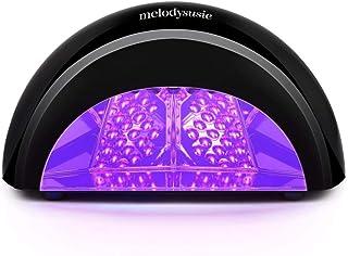 MelodySusie® 12W Violetili LED Lamp Nail Dryer for Curing LED Gel & Gelish Nail Polish Black