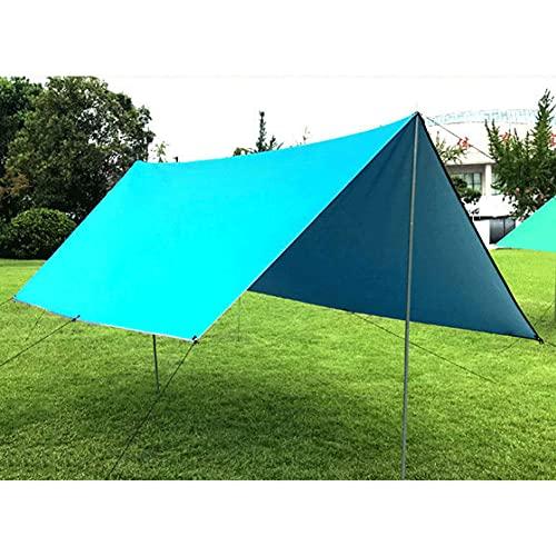 ZFRXIGN Tienda De Campaña Familiar, Toldo Al Aire Libre, Pérgola para Acampar, Toldo para Varias Personas Al Aire Libre, Toldo con Toldo UV, Carpa(Color:Azul)