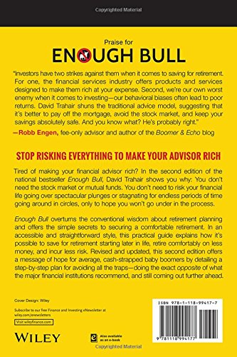 51RMnUewCKL - Enough Bull: How to Retire Well without the Stock Market, Mutual Funds, or Even an Investment Advisor
