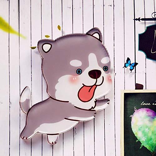 HPPL hond 1 st. hoge koelkast magneet cartoon huisdecoratie acryl mode schattige magnetische stickers