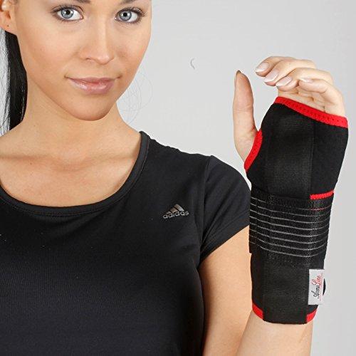 Handgelenkbandage aus Neopren – Karpaltunnel-Handbandage zur Unterstützung bei Verstauchungen, Arthritis, Schmerzen, Daumen, atmungsaktiv