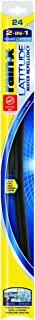 Rain-X 5079280-2 Latitude 2-in-1 Water Repellency Wiper Blade - 24-inches