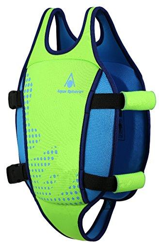 AQUALUNG Swim Vest (Fluo Green/Blue, M 2-3 Jahre)