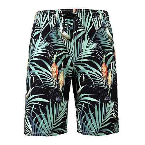 T.M.R.W. Clothing 3D gedrukte Quick Dry Beach Shorts voor heren, zwembroek shorts met zakken, coole nieuwheid zwemshorts voor tieners, jongens