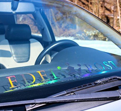 Hologramm Aufkleber Auto Edelrost Fronscheibenaufkleber,Oilslick Seitenaufkleber, Car tattoo Sticker