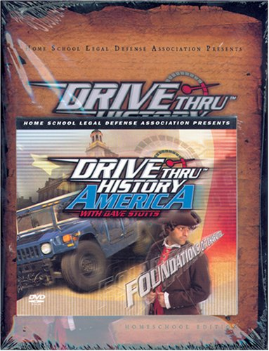 Drive Thru History America: Foundations of Character Home School Edition with DVD