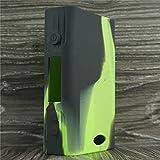 Silicone Case for Sigelei Fuchai 200w Box Mod Sleeve Cover Skin Wrap (Green/Black)