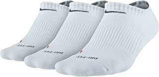 NIKE Dry Cushion No-Show Training Socks (3 Pairs)