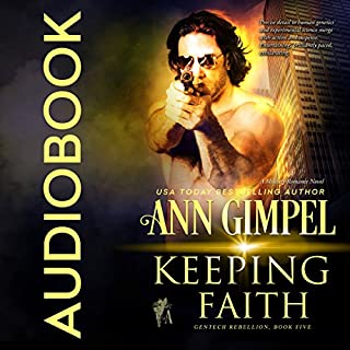 Keeping Faith audiobook cover art