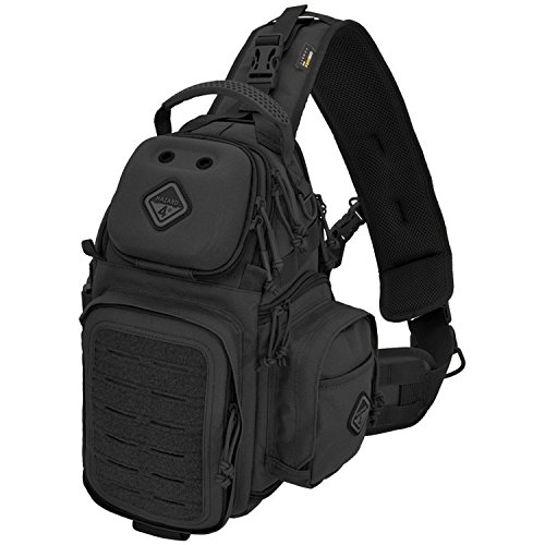 Freelance(TM) photo and drone tactical sling-pack by Hazard 4(R) - Black