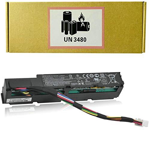 CQCQ MC96 Compatible Battery Replacement for Hp Smart Array P840AR P440AR P840 P440 Raid Controller Smart Storage Series Gen9 Gen10 DL/ML/SL 871264-001 727258-B21 MC96G9 (7.2V 8Wh/1100mAh)