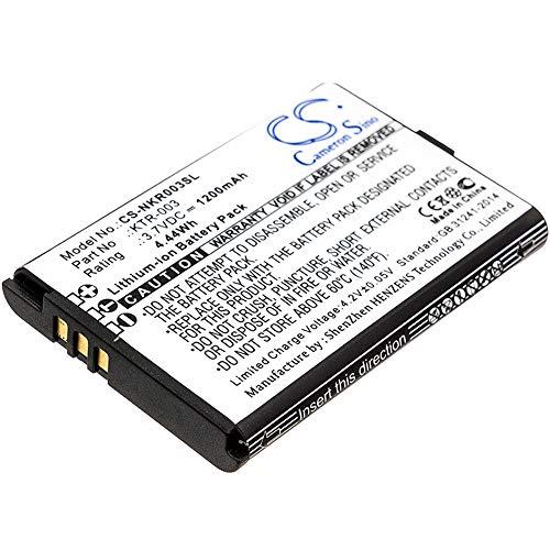 Babyphone baby phone Batterie 3.7 V 1000 mAh pour Nuk 10256296//PHILIPS AVENT scd536