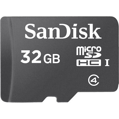 SanDisk microSDHC 32GB Flash Memory Card, Black, SDSDQM-032G-B35 (Retail Packaging) (Best Memory Card For Android Phone)