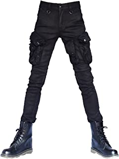 カーゴパンツ 程良い光沢 カーゴ スキニー コーティング スキニーパンツ スリム パンツ ブラック 黒