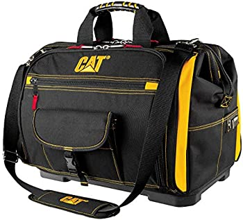 Cat 18 inch Pro Toolbag 56 Pockets Heavy Duty 1680D Polyester