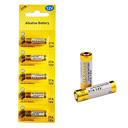 LiCB 5本セット 27A 12Vアルカリ電池【A27、G27A、PG27A、MN27、CA22、L828、EL812、L27A互換 】