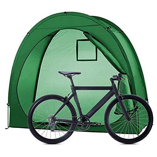 ZXYMUU Bike Tent, Outdoor Portable Bicycle Storage Shed, Space Saving, 200CMX80CMX170CM, Waterproof Thicken Fabric for Outdoors Camping Home Garden