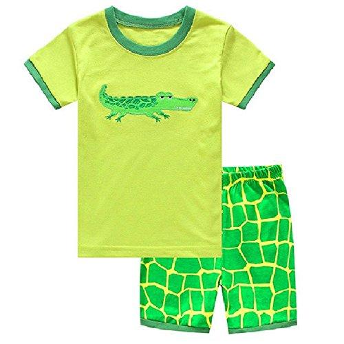 Hooyi - Ensemble de pyjama - Bébé (garçon) 0 à 24 mois Vert Green - Vert - S