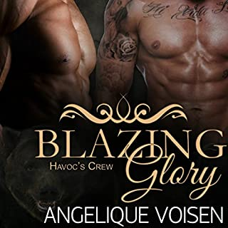 Blazing Glory audiobook cover art