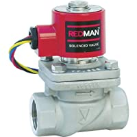 ヨシタケ 電磁弁 レッドマン ピストン式 通電時開形 定格電圧AC100V 50/60Hz兼用 SCS製 最高圧力1.0MPa ねじ込み接続 接続口径15A 本体SCS 最高温度180℃ 型式DP-100 15A