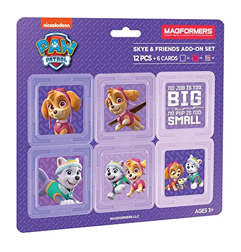 Magformers 66006 Building Kit, Paw Patrol Colors