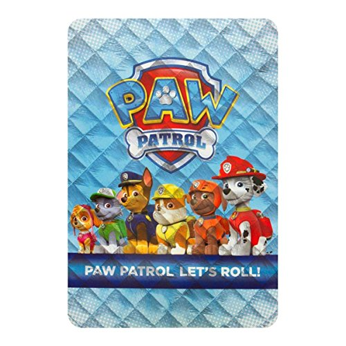 Trapunta Quilt Invernale Paw Patrol Squadra Dei Cuccioli Singola Una Piazza Q248