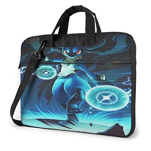 15.6 inch Laptop Shoulder Briefcase Messenger Lu-Ca-Rio Tablet Bussiness Carrying Handbag Case Sleeve