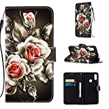 Lomogo Leather Wallet Case for Xiaomi Redmi Note 7/Note 7Pro/Note 7S with Stand Feature Card Holder Magnetic Closure, Shockproof Flip Case Cover for Xiaomi Redmi Note7 Pro - LOYBO450506 L6