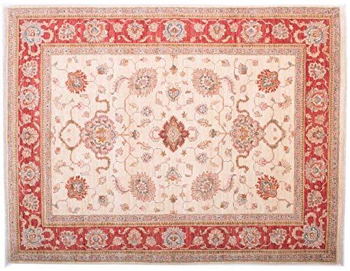 Teppichprinz Feiner Chobi Ziegler Farahan 194x149 cm Handgeknüpfter Orientteppich 200 x 150